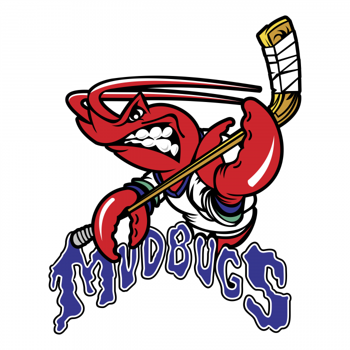 Bossier Shreveport Mudbugs logo colour