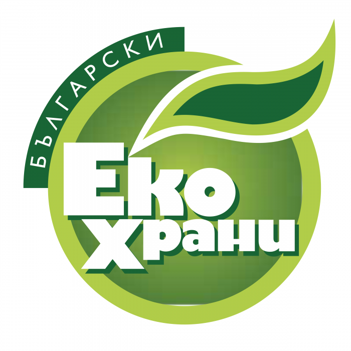 Bulgarian Eco Food logo green