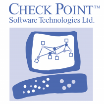 Check Point logo blue