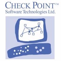 Check Point logo blue