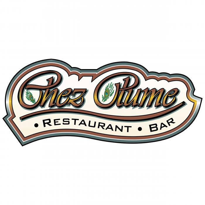 Chez Plume logo colour