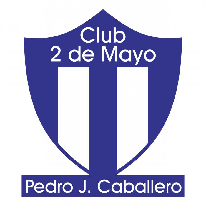 Club 2 de Mayo de Pedro Juan Caballero logo blue
