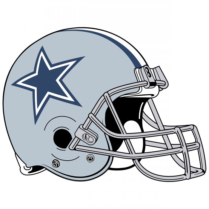 Dallas Cowboys logo helm
