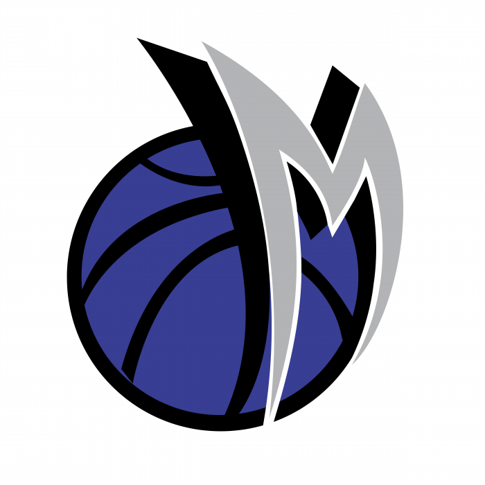 Dallas Mavericks logo blue