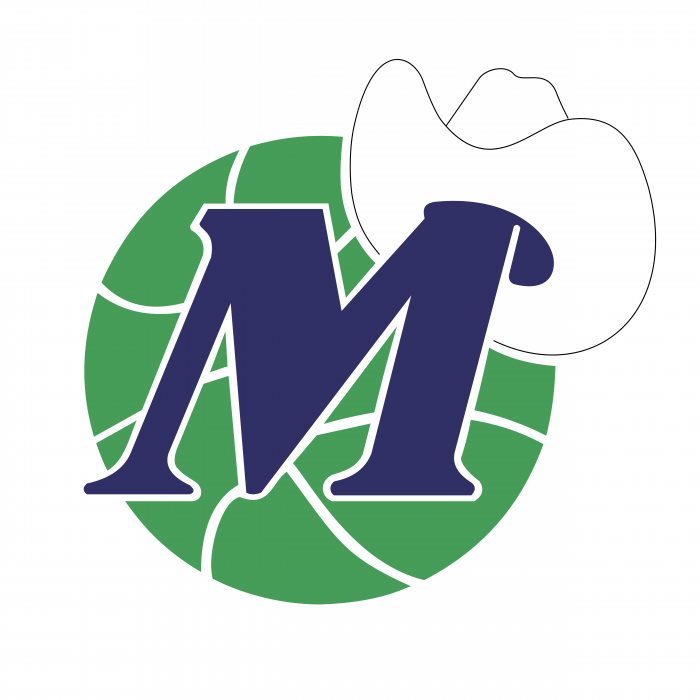 Dallas Mavericks logo green