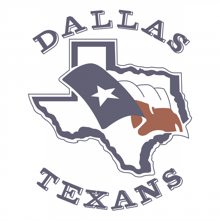 Dallas Texans logo colour