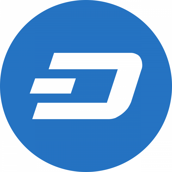 Dash logo blue