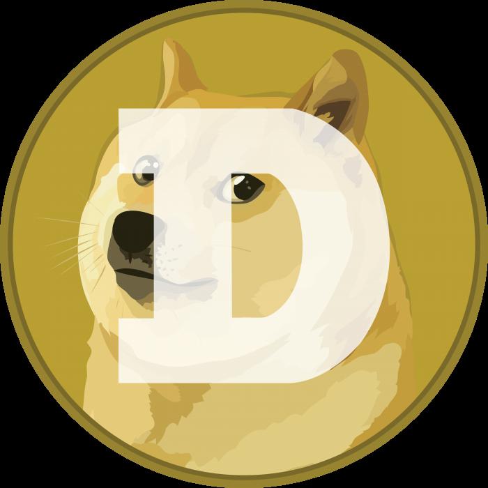 DogeCoin logo dog