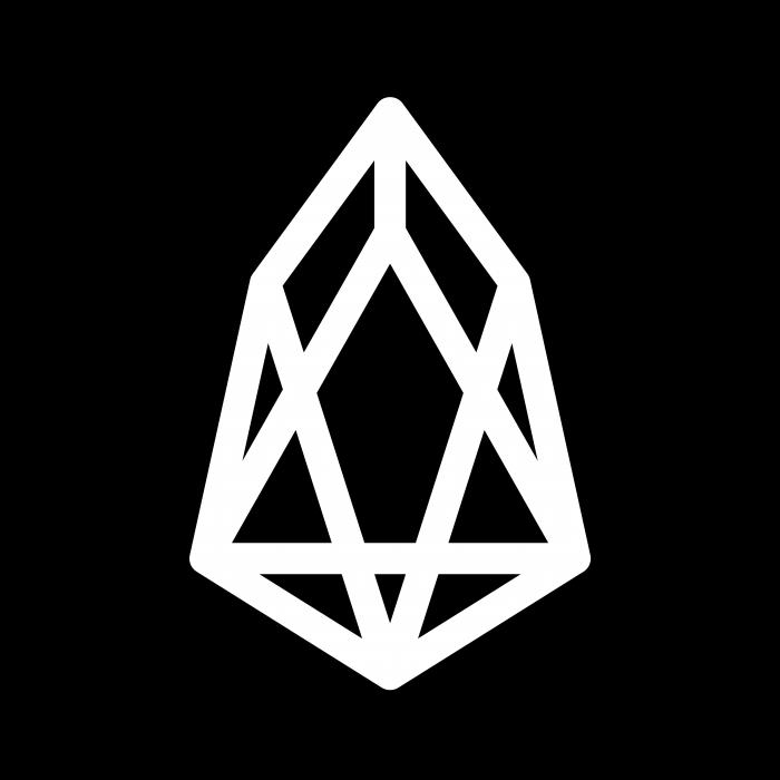 EOS logo coin