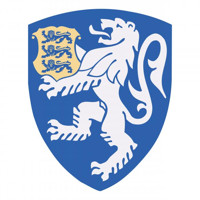 Estonian Police Department logo blue