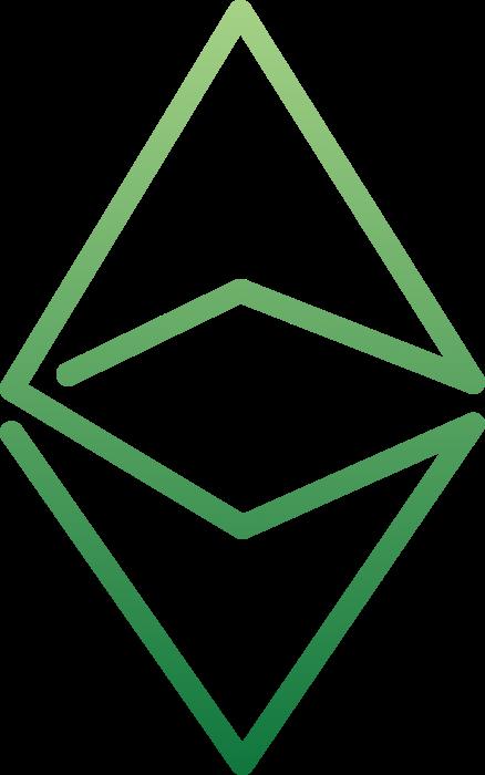 Ethereum logo green
