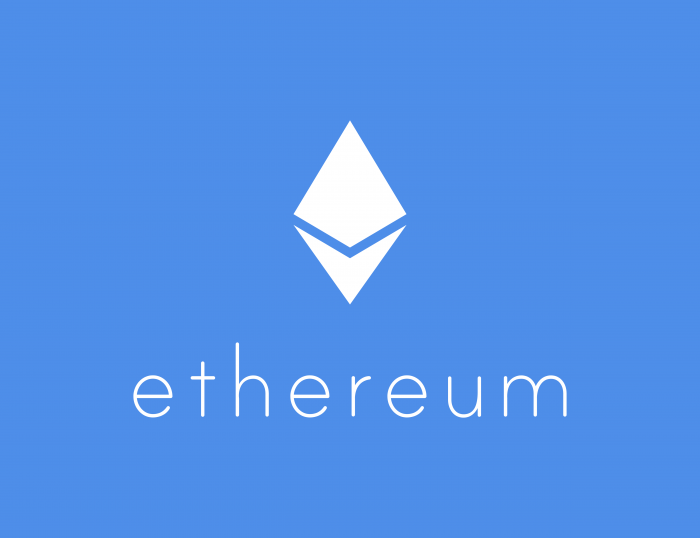 Ethereum logo white