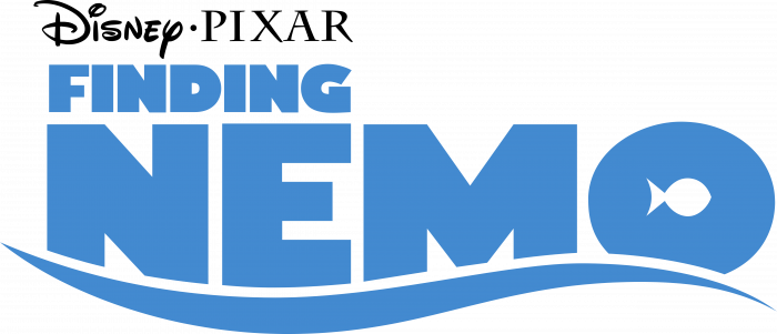 Finding Nemo logo blue