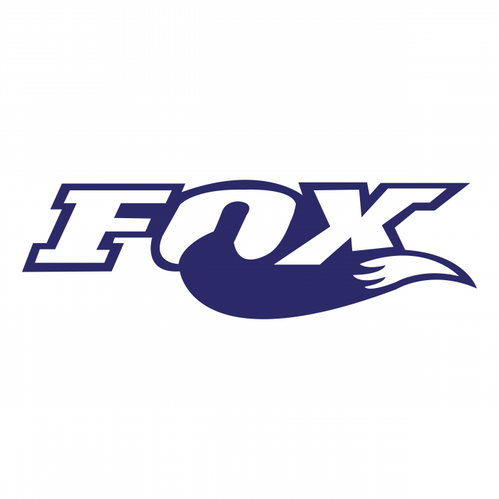 Fox Racing logo blue