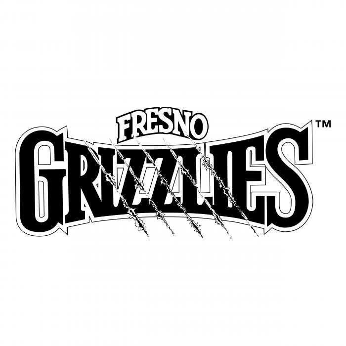 Fresno Grizzlies logo black