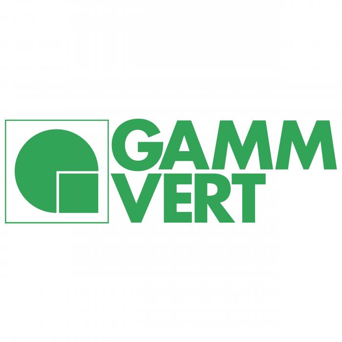 Gamm Vert logo green
