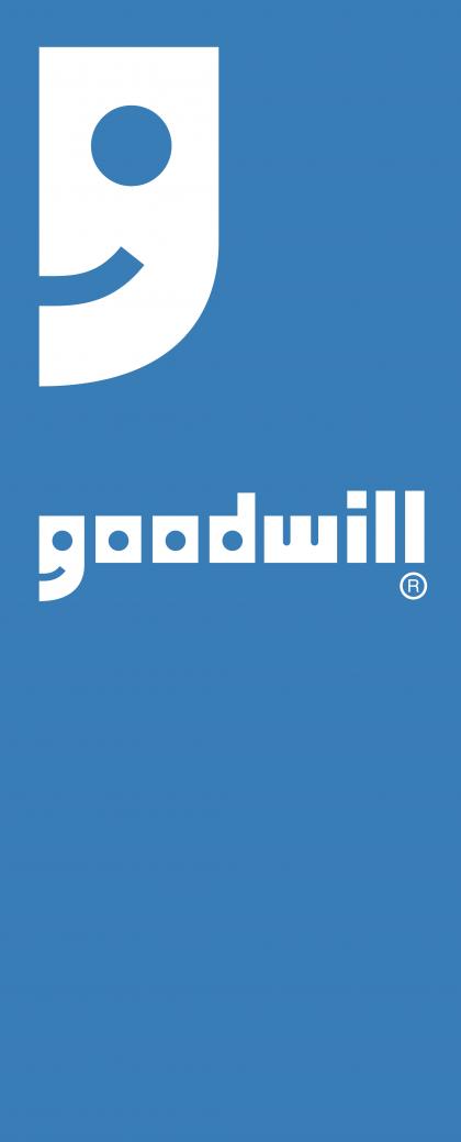 Goodwill logo blue