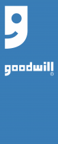 Goodwill logo blue