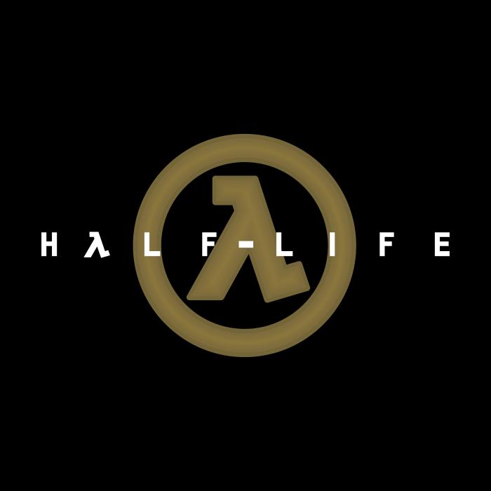 Half Life logo cube