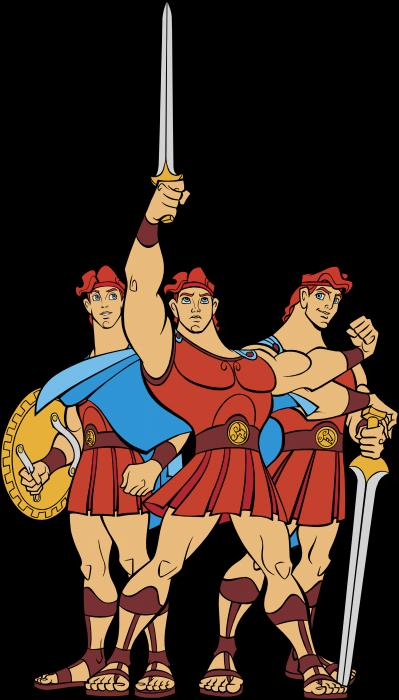 Hercules logo human