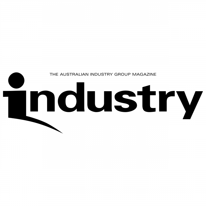 Industry logo black
