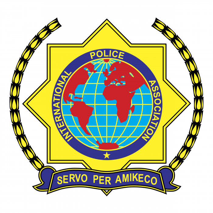 International Police Assosiation logo yellow