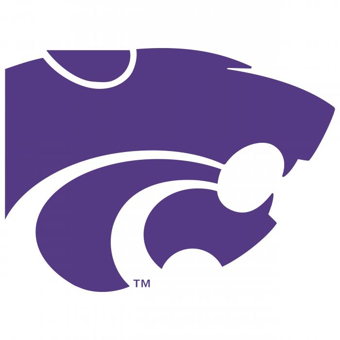 Kansas State Wildcats logo violet