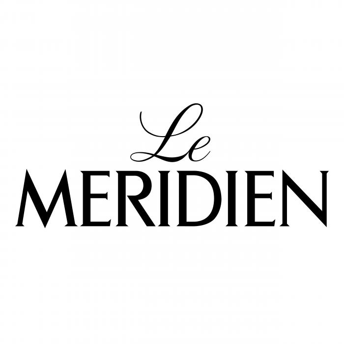 LE Meridien logo black