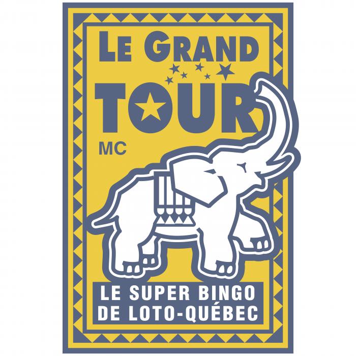 Le Grand Tour logo yellow