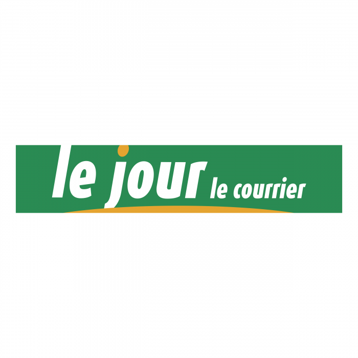 Le Jour le Courrier logo green