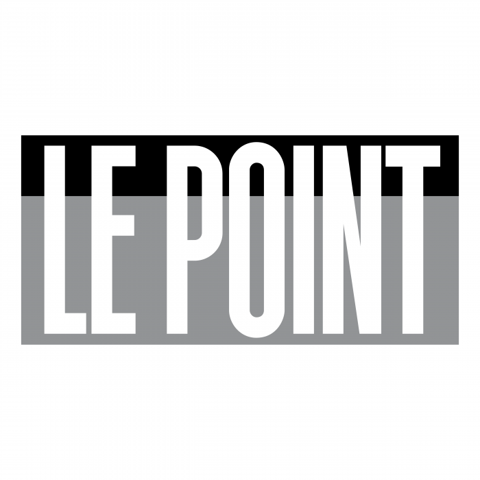 Le Point logo black