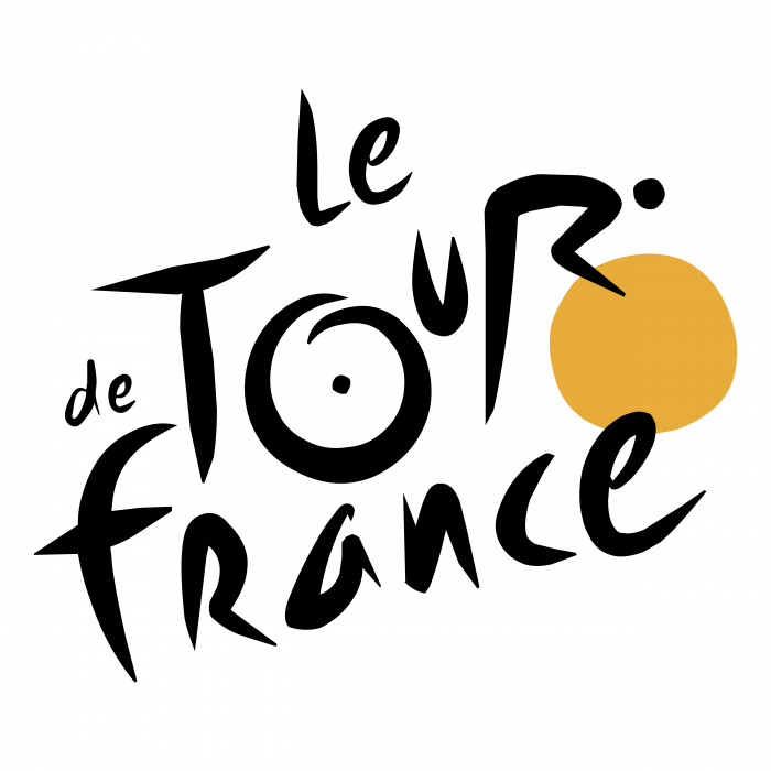 Le Tour de France logo black