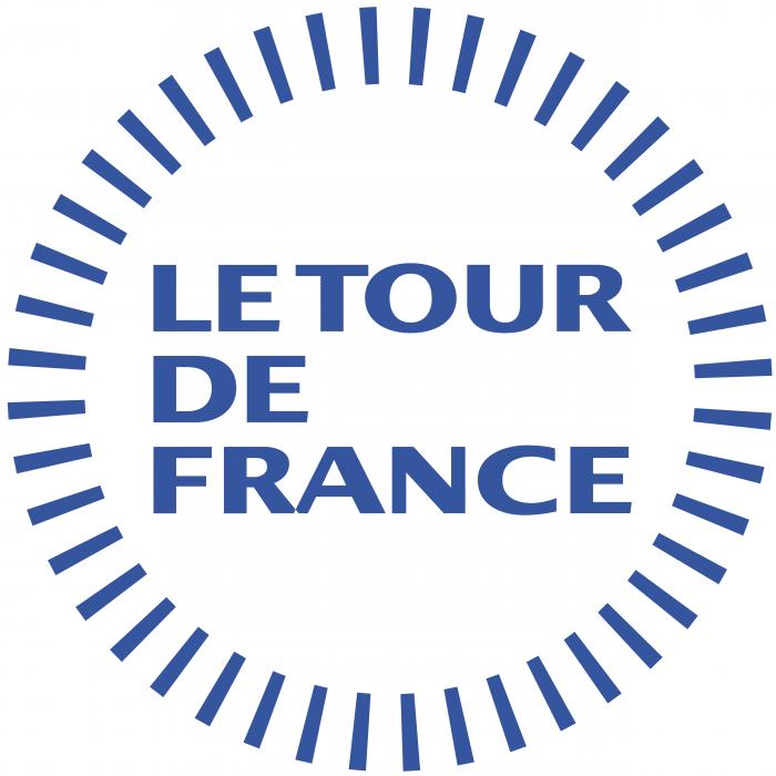 Le Tour de France logo cercle