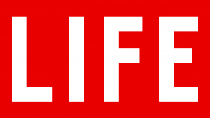Life Magazine logo red