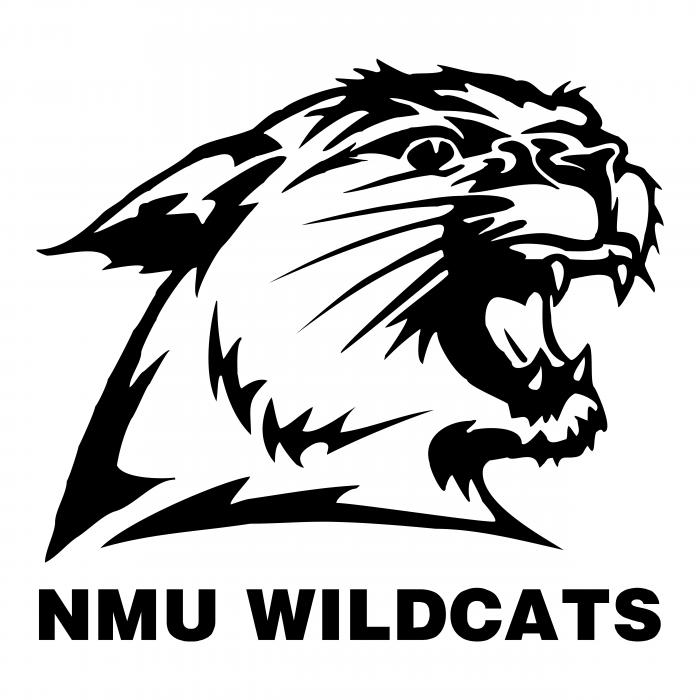 MNU Wildcats logo black