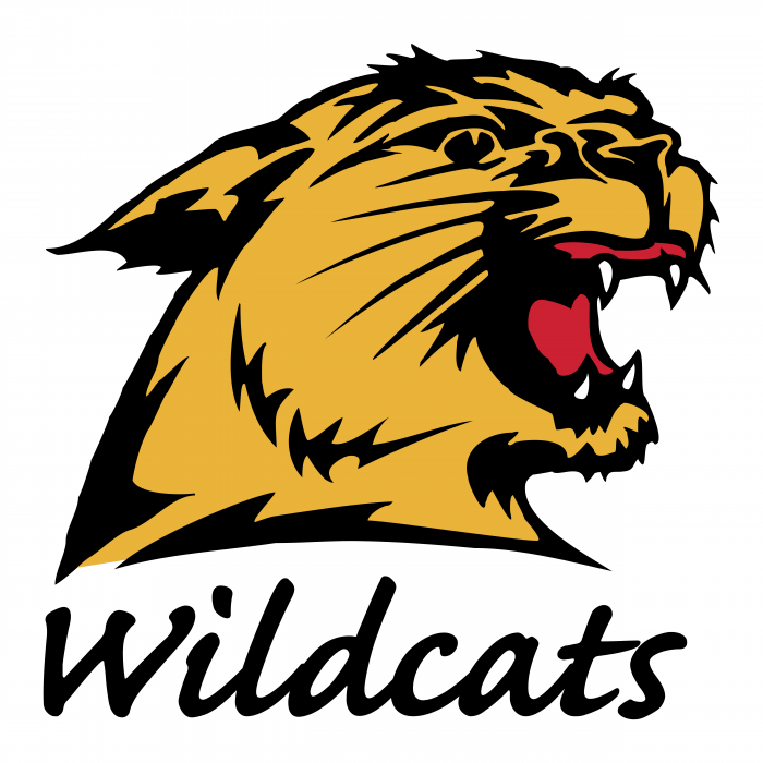 MNU Wildcats logo colour