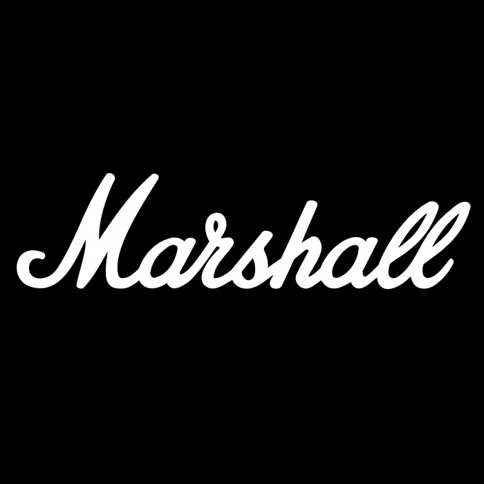 Marshall Amplification logo black