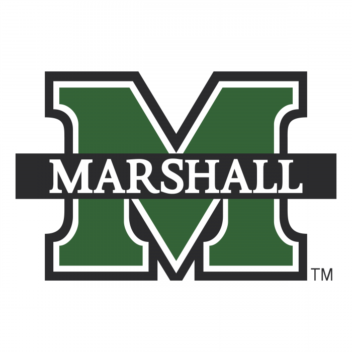 Marshall University logo green