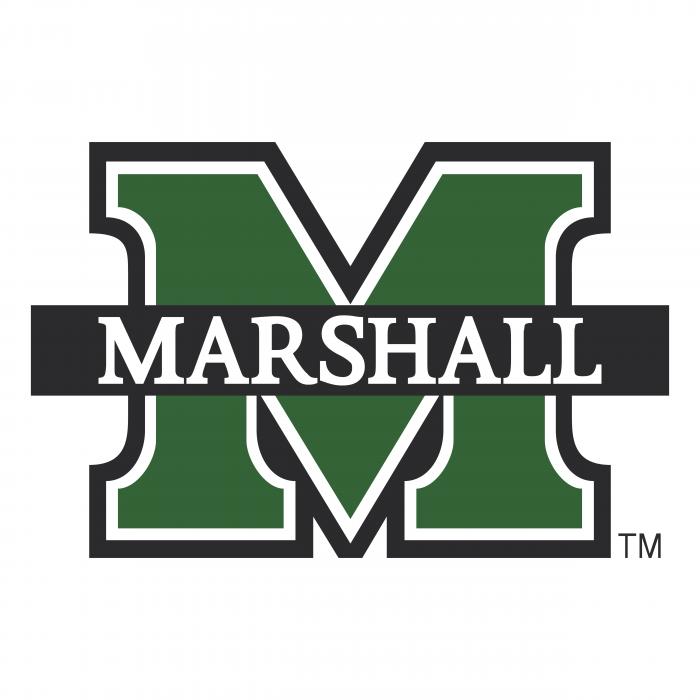 Marshall University logo green