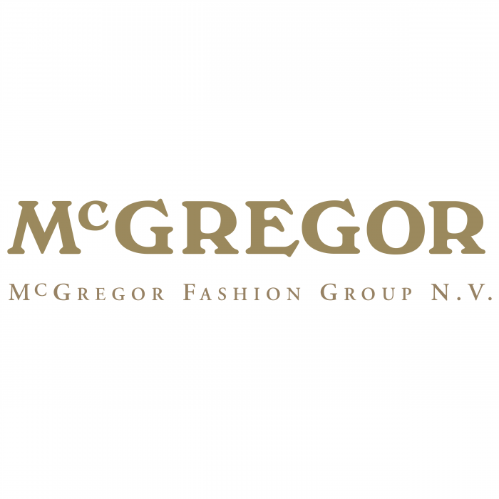 McGregor logo gold