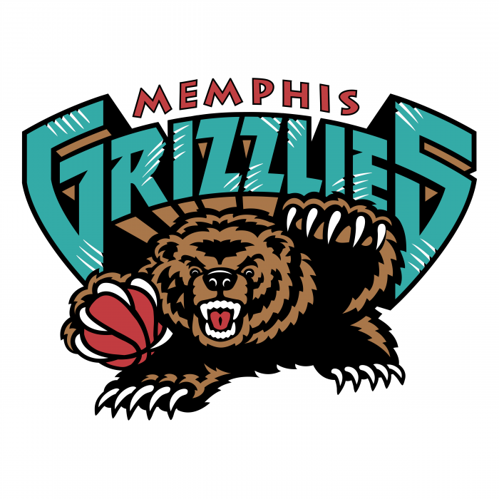 Memphis Grizzlies logo colour