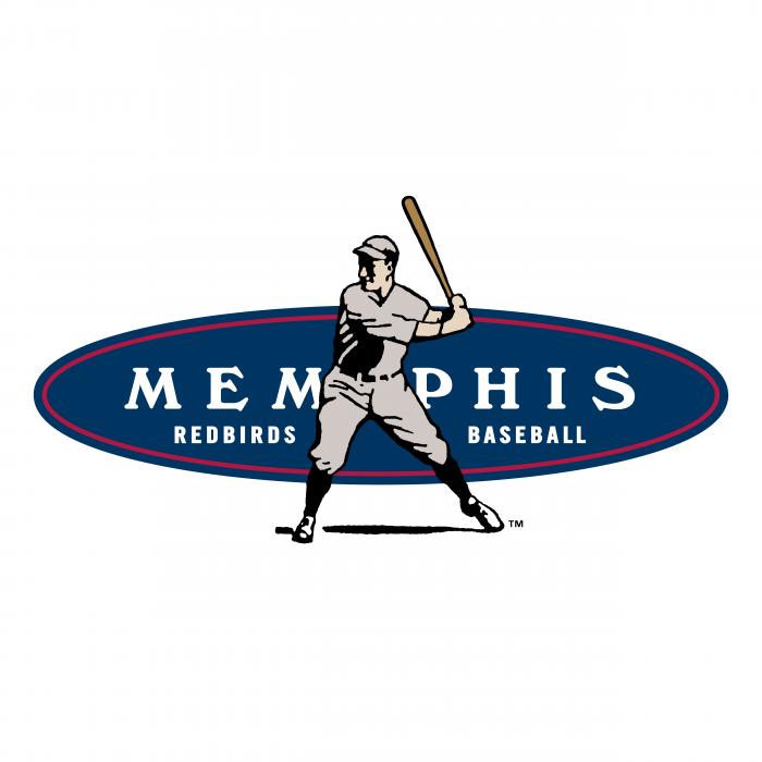 Memphis Redbirds logo colour