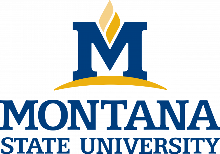 Montana State University logo pink