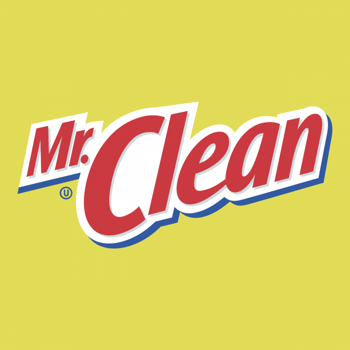 Mr. Clean logo cube