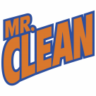 Mr. Clean logo orange