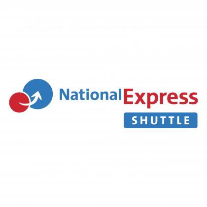 National Express Shuttle logo colour