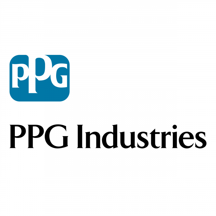 PPG Industries logo blue