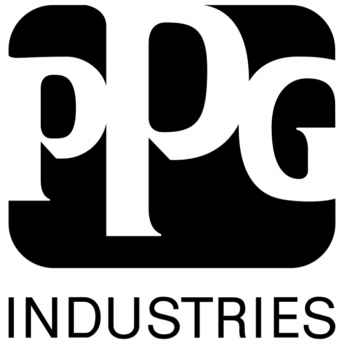 PPG Industries logo cube