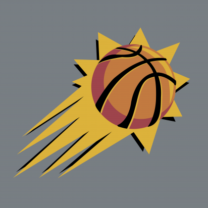 Phoenix Suns logo ball