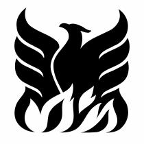 Phoenix logo black